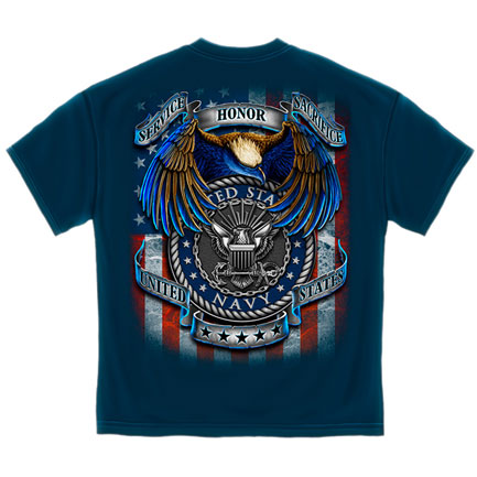 Navy Heroes T-Shirt - Blue