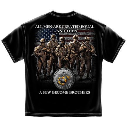 Brotherhood Marines Shirt - Black