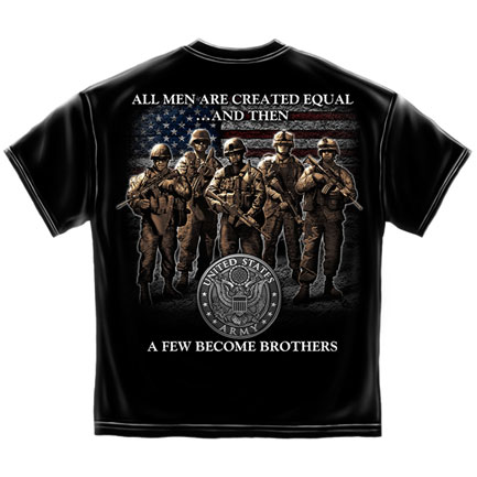 Brotherhood Army T-Shirt - Black