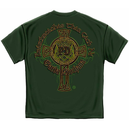Men's Irish Heritage Police Department T-Shirt