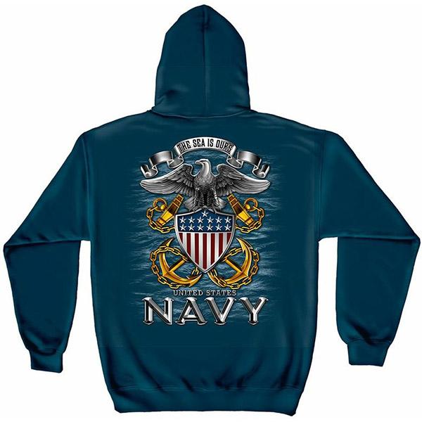 United States Navy Patriotic Hoodie