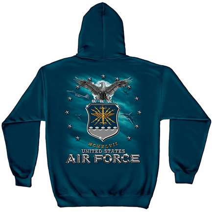 United States Air Force Men's Blue Hoodie