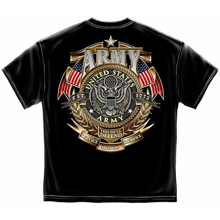 Men's Patriotic US Army Defend This Tee Shirt