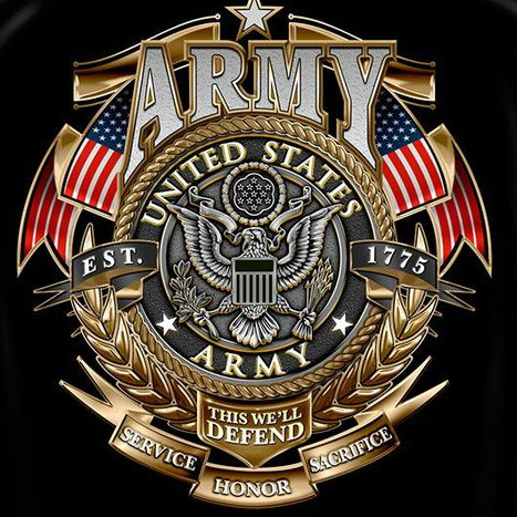 Black US Army This We'll Defend T-Shirt