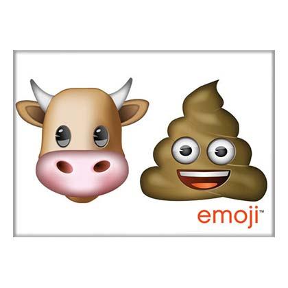 Bull Poop Emoji Magnet