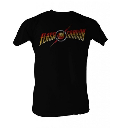 Flash Gordon Full Color Logo Tshirt