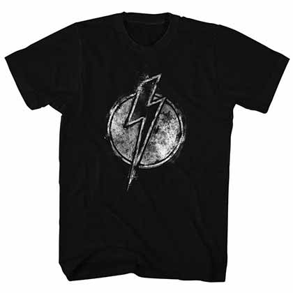 Flash Gordon Chalkie Mens Black T-Shirt