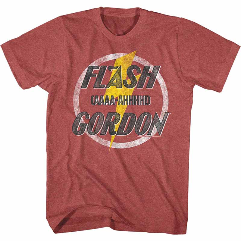 c8b9e65fcce86 Flash Gordon Aaaa-Ahhhhh Mens Red T-Shirt