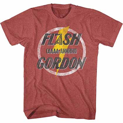 Flash Gordon Aaaa-Ahhhhh Mens Red T-Shirt