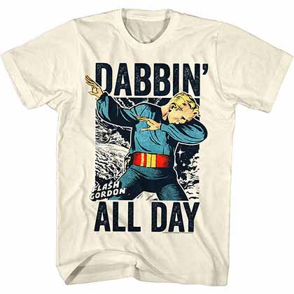 Flash Gordon Dabgordon Mens Vream T-Shirt