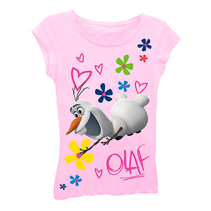 Disney Frozen Olaf Girls 7-16 T-Shirt