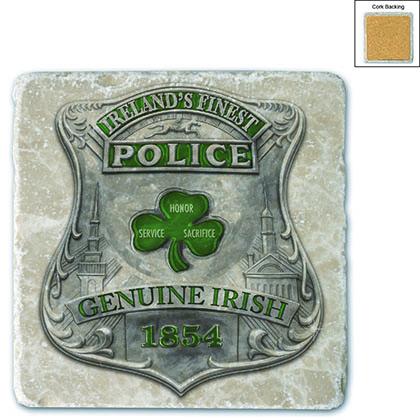 Police Garda Ireland's Finest Stone Coaster