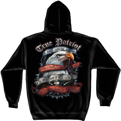 Patriotic True Patriot Hoodie