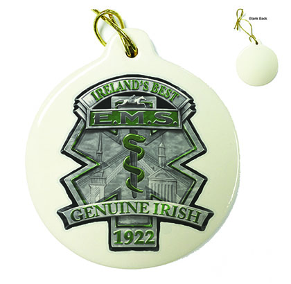EMS Ireland's Best Porcelain Ornament