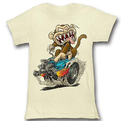 Family Guy Hot Rod Monkey T-Shirt