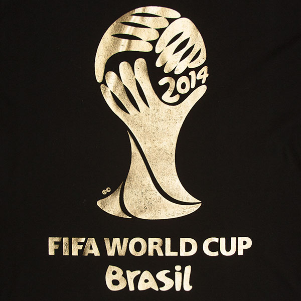 FIFA Men's Black 2014 World Cup Tee Shirt