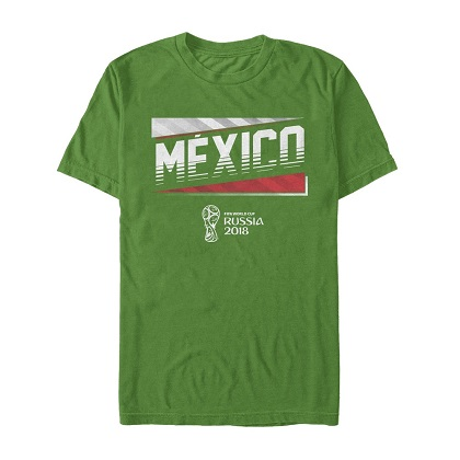World Cup 2018 Mexico Green Tshirt