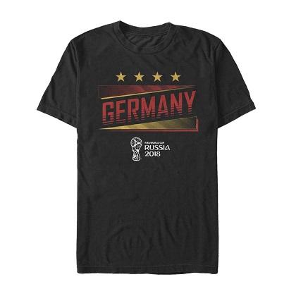 World Cup 2018 Germany Black Tshirt