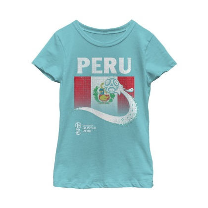 World Cup 2018 Peru Women's Tshirt