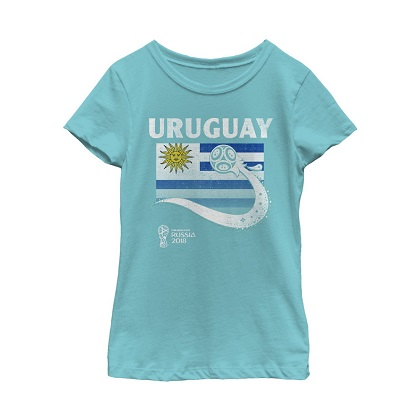 World Cup 2018 Uruguay Women's Tshirt