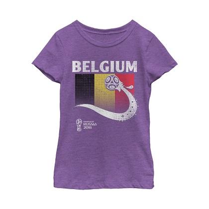 World Cup 2018 Belgium Women's Tshirt