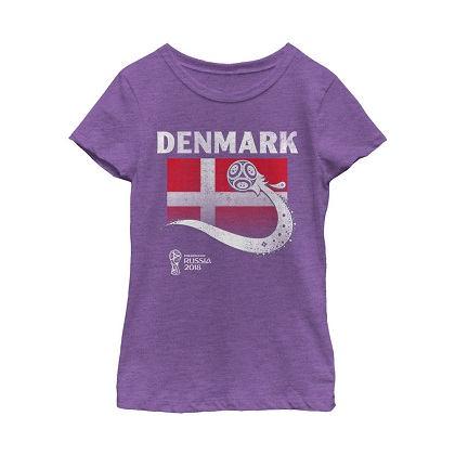 World Cup 2018 Denmark Women's Tshirt