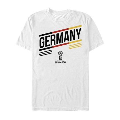 World Cup Russia 2018 Germany White Tshirt