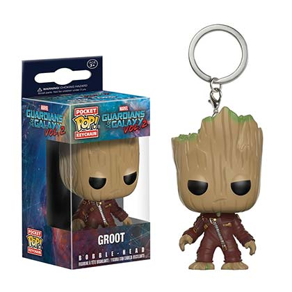 Guardians Of The Galaxy Funko Toy Groot Keychain