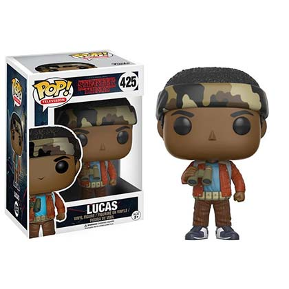 Stranger Things Lucas Funko Pop Vinyl Figure