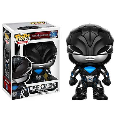 Funko Pop Black Power Ranger Vinyl Figure