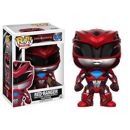 Funko Pop Red Power Ranger Vinyl Figure
