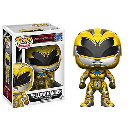 Funko Pop Yellow Power Ranger Vinyl Figure
