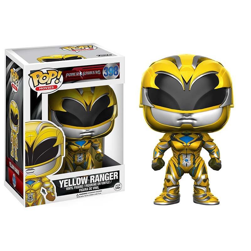 Funko Pop Yellow Power Ranger Vinyl Figure