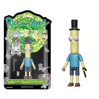 Funko Rick And Morty Mr. Poopy Butthole Vinyl Action Figure