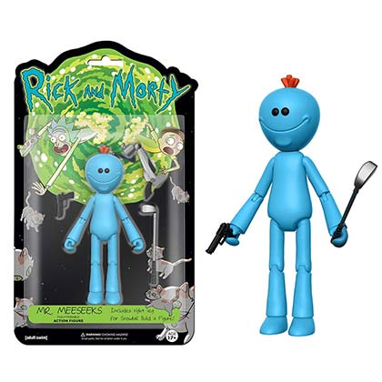 Funko Vinyl Rick And Morty Mr. Meeseeks Action Figure