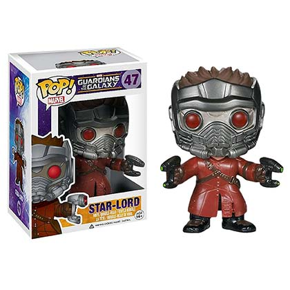 Funko Pop Guardians Of The Galaxy Star Lord Vinyl Figure
