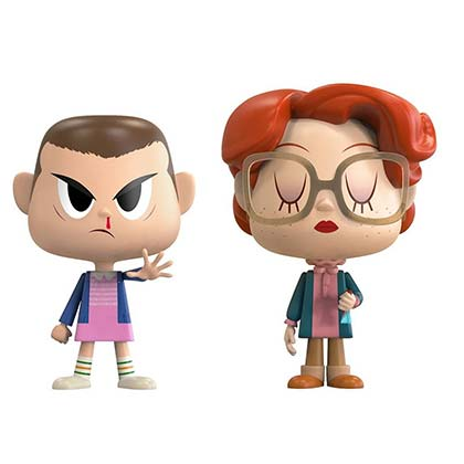 Stranger Things Eleven And Barb Funko Pop Vynl Figure Set