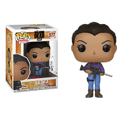 Walking Dead Sasha Funko Pop Vinyl Figure