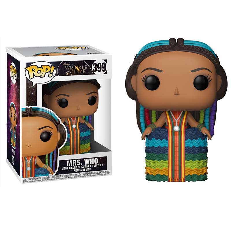 A Wrinkle In Time Mrs. Who Funko Pop Toy Figure