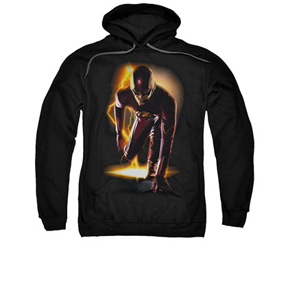 The Flash Ready Black Pullover Hoodie