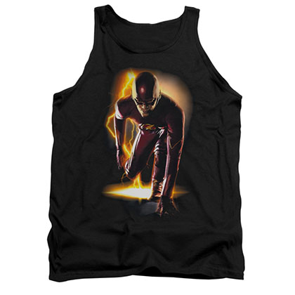 The Flash Ready Black Tank Top