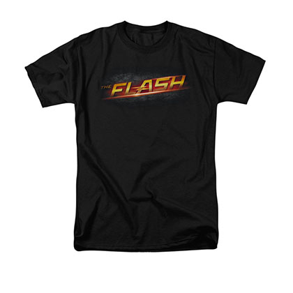 The Flash Logo Black T-Shirt