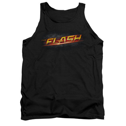 The Flash Logo Black Tank Top