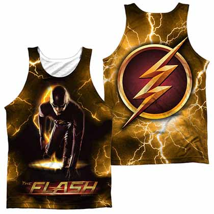 The Flash Bolt Sublimation Tank Top