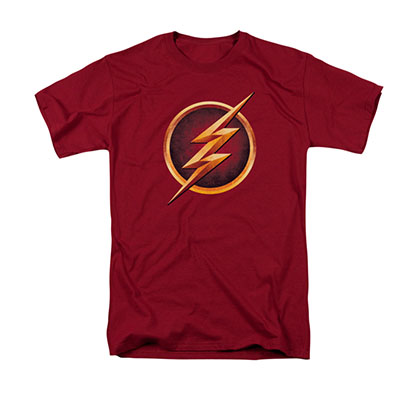 The Flash Chest Logo Red T-Shirt