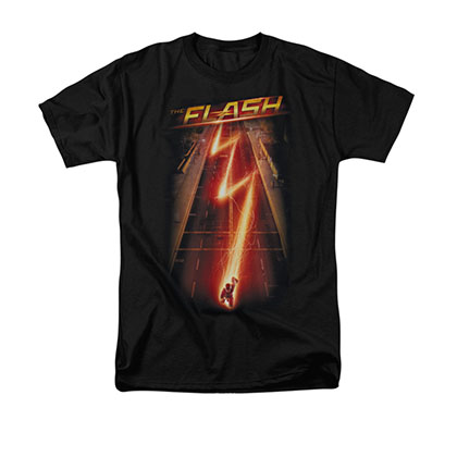 The Flash Ave Black T-Shirt