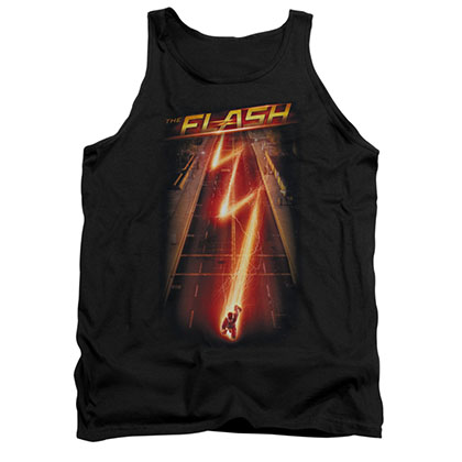 The Flash Ave Black Tank Top