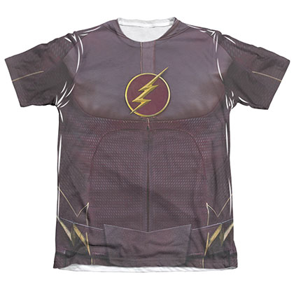 The Flash Uniform Costume Sublimation T-Shirt