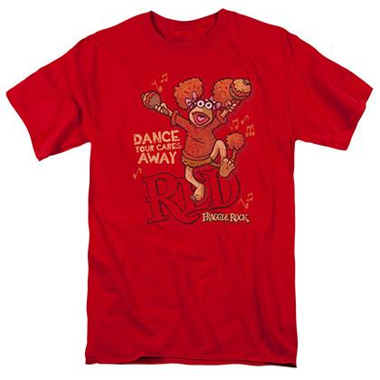 Fraggle Rock Dance Red T-Shirt