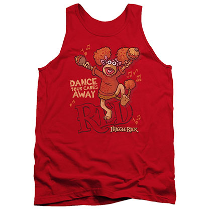 Fraggle Rock Dance Red Tank Top